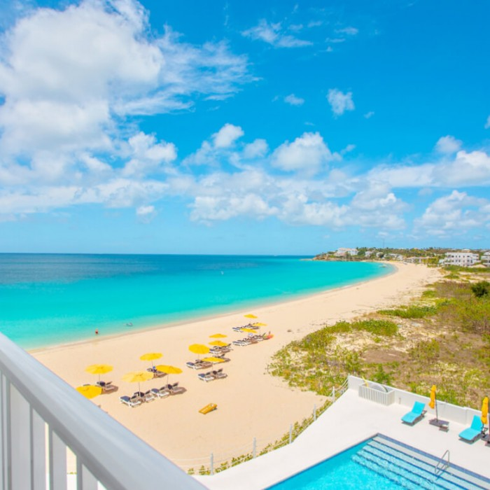 Meads Bay Beach View from Turtles Nest Anguilla